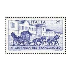 1 عدد تمبر روز تمبر - ایتالیا 1969