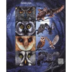 مینی شیت پرندگان - جغدها - لهستان 2015