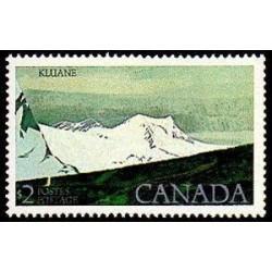 1 عدد تمبر پارک ملی کلون - کانادا 1979 ارزش روی تمبر 2 دلار کانادا