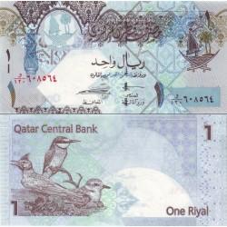 اسکناس 1 ریال - قطر 2008