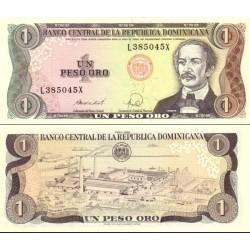اسکناس 1 پزو  - جمهوری دومنیکن 1988
