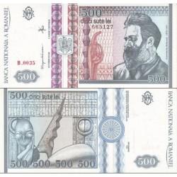 اسکناس 1000 لی - رومانی 1992 در فیلیگران کنستانتین در حال نگاه به سمت راست