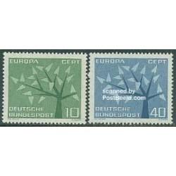 2 عدد تمبر مشترک اروپا - Europa Cept-  جمهوری فدرال آلمان 1962