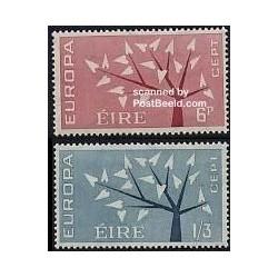 2 عدد تمبر مشترک اروپا - Europa Cept - ایرلند 1962