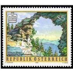 1 عدد تمبر  زیبایهای طبیعی اتریش - اتریش 1992