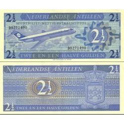 اسکناس 2/5 گولدن - آنتیلن هلند 1970