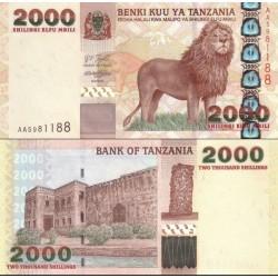 اسکناس 2000 شیلینگ - تانزانیا 2003