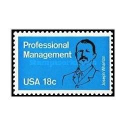 1 عدد تمبر مدیریت حرفه ای - آمریکا 1981