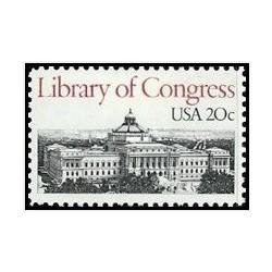 1 عدد تمبر کتابخانه کنگره - آمریکا 1982