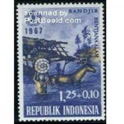 یک عدد تمبر روز جامعه - اندونزی 1967