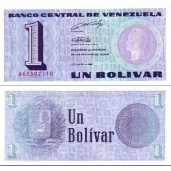 اسکناس 1 بولیوار - ونزوئلا 1989