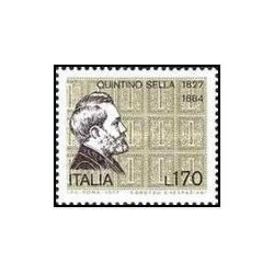 1 عدد تمبر 150مین سالگرد تولد سلا - ایتالیا 1977