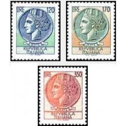 3 عدد تمبر ایتالیا - ایتالیا 1977