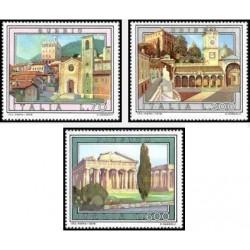 3 عدد تمبر تبلیغات گردشگری - تابلو نقاشی - ایتالیا 1978