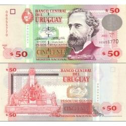 اسکناس 50 پزو - اورگوئه 2003