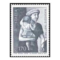 1 عدد تمبر 550مین سالگرد مرگ مازاچیو - تابلو نقاشی - ایتالیا 1978