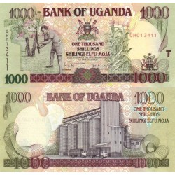 اسکناس 1000 شلینگ - اوگاندا 2003