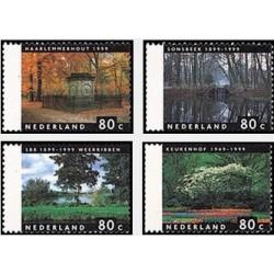 4 عدد تمبر چهار فصل - هلند 1999