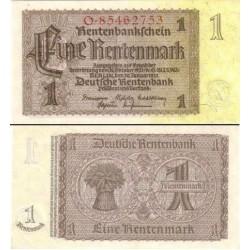 اسکناس 1 رنتن مارک  - آلمان 1937