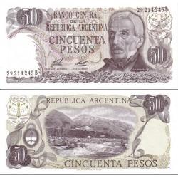 اسکناس 50 پزو - آرژانتین 1976