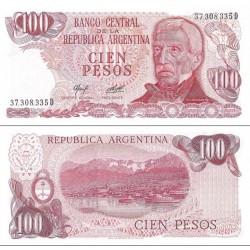 اسکناس 100 پزو - آرژانتین 1977
