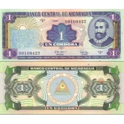 اسکناس 1 کردوبا - نیکاراگوئه 1995
