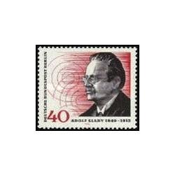 1 عدد تمبر 125مین سالگرد تولد آدلف اسلابی - تکنسین رادیو - برلین آلمان 1974
