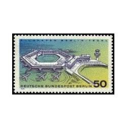 1 عدد تمبر فرودگاه برلین - تگل- برلین آلمان 1974