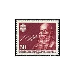 1 عدد تمبر 200مین سالگرد تولد فرد ریش لودویگ یان - برلین آلمان 1978