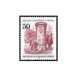1 عدد تمبر ستونهای تبلیغاتی - برلین آلمان 1979