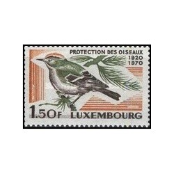 1 عدد تمبر 50مین سالگرد انجمن حفاظت از پرندگان لوگزامبورگ - لوگزامبورگ 1970