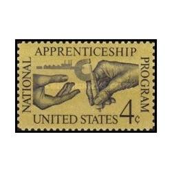 1 عدد تمبر شاگردی - آمریکا 1962
