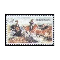 1 عدد تمبر چارلز راسل - آمریکا 1964