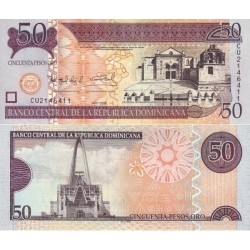 اسکناس 50 پزو - جمهوری دومنیکن 2008