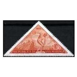 1 عدد تمبر رقابتهای ورزشی تورین - سان مارینو 1959