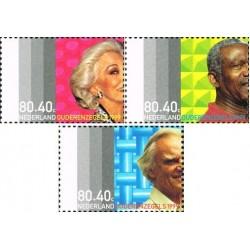 3 عدد تمبر خیریه - هلند 1999