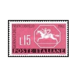 1 عدد تمبر روز تمبر - ایتالیا 1961