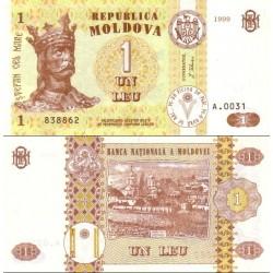 اسکناس 1 لیو  - مولداوی 1999