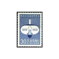 1 عدد تمبر صدمین سالگرد آزادسازی روستا شاپ کیپینگ - فنلاند 1959