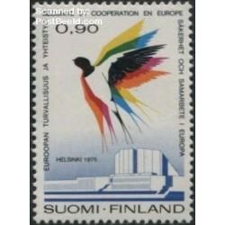 1 عدد تمبر کنفرانس اروپایی امنیت و همکاری - فنلاند 1975