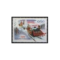 1 عدد تمبر کریسمس - فنلاند 1976