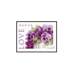 1 عدد تمبر تبریک - خودچسب - آمریکا 2010