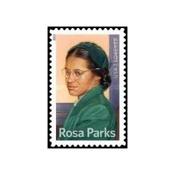 1 عدد تمبر صدمین سالگرد تولد رزا پارکس ، 1913 - 2005 - آمریکا 2013