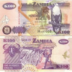 اسکناس 100 کواچا - زامبیا 2003