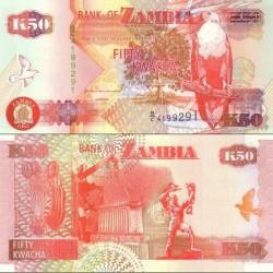 اسکناس 50 کواچا - زامبیا 1992