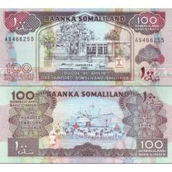 اسکناس 100 شلینگ - سومالی لند 1996
