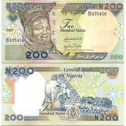 اسکناس 200 نایرا -نیجریه 2007