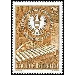 1 عدد تمبر 175مین سالگرد تاباکریگ - اتریش 1959