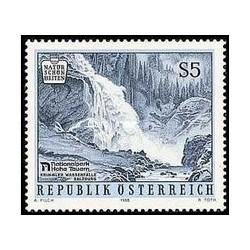 1 عدد تمبر زیبایی های طبیعی اتریش - منظره - اتریش 1988