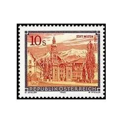 1 عدد تمبر صومعه اتریش - اتریش 1988